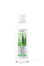 Gel massage Nuru Aloe Vera Mixgliss - 150 ml : Gel de massage NÜ par Mixgliss pour redécouvrir le plaisir du massage Nuru. Formule enrichie en Aloe, flacon de 150 ml.