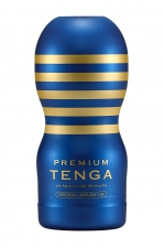Masturbateur Premium Original Vacuum Cup - Tenga : La version Premium du simulateur de gorge profonde Tenga Original, pour une expérience de succion ultime.